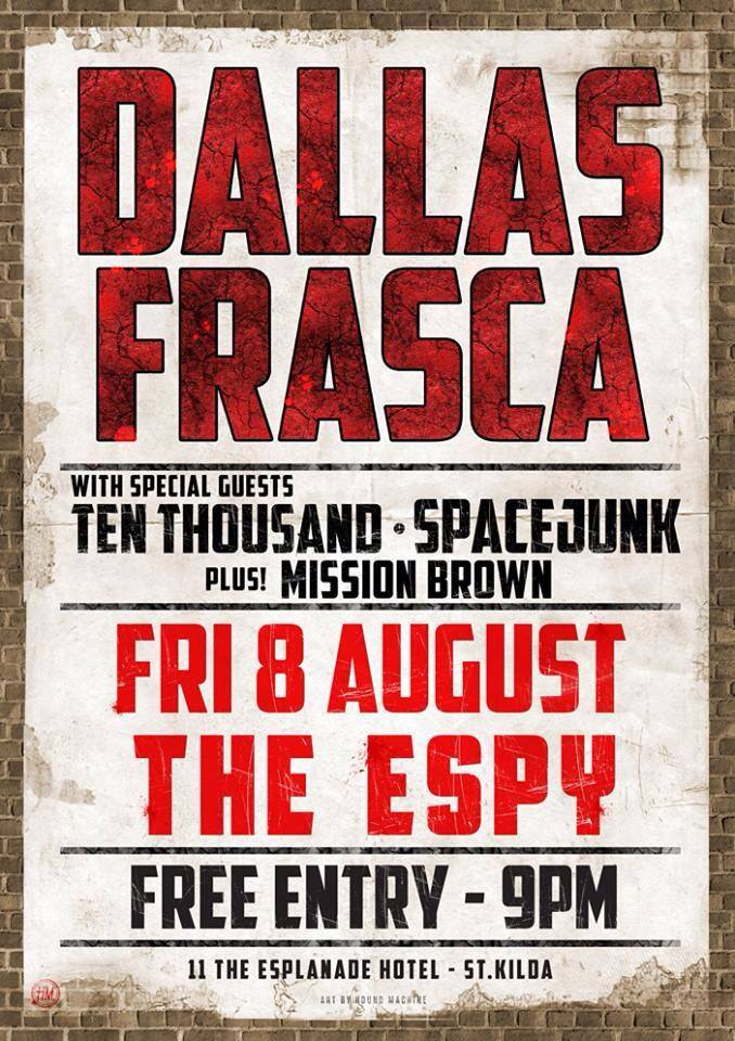 Ten Thousan - Dallas Frasca -Espy